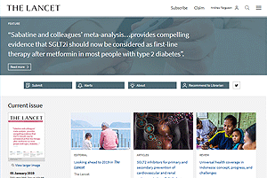 Lancet.com - journal home pages (view in new window)