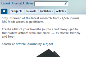 LatestJournalArticles.com (view in new window)